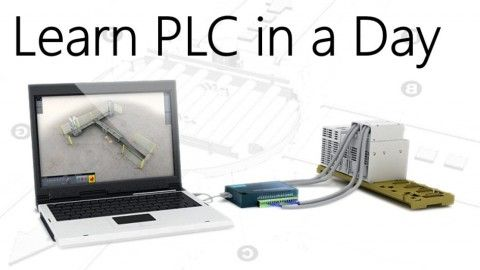 Learn PLC in a Day - PLC Wiring & Programming of Allen Bradley