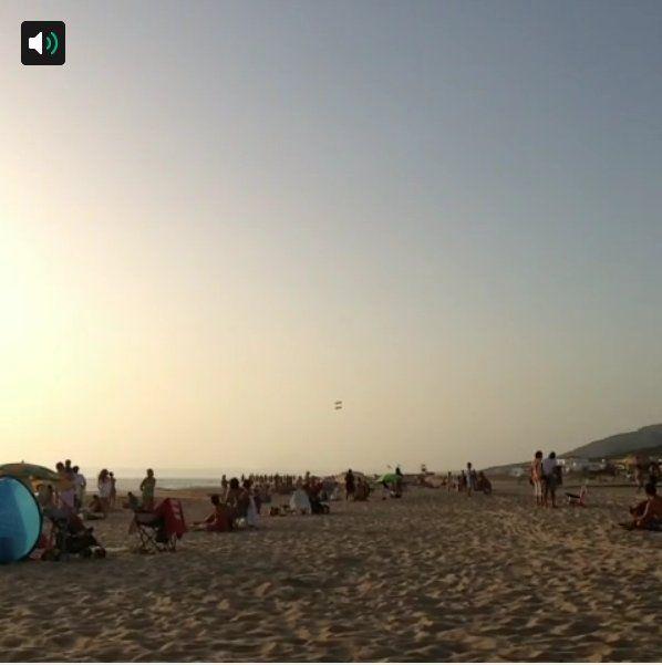 173. El vuelo de 2 cazas tb es #veranoenAndalucia. By @Pituli75 (vídeo)
