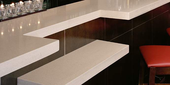 Corian Quartz Cloud White Bartops Countertop Inspiration Corian Countertop Choices