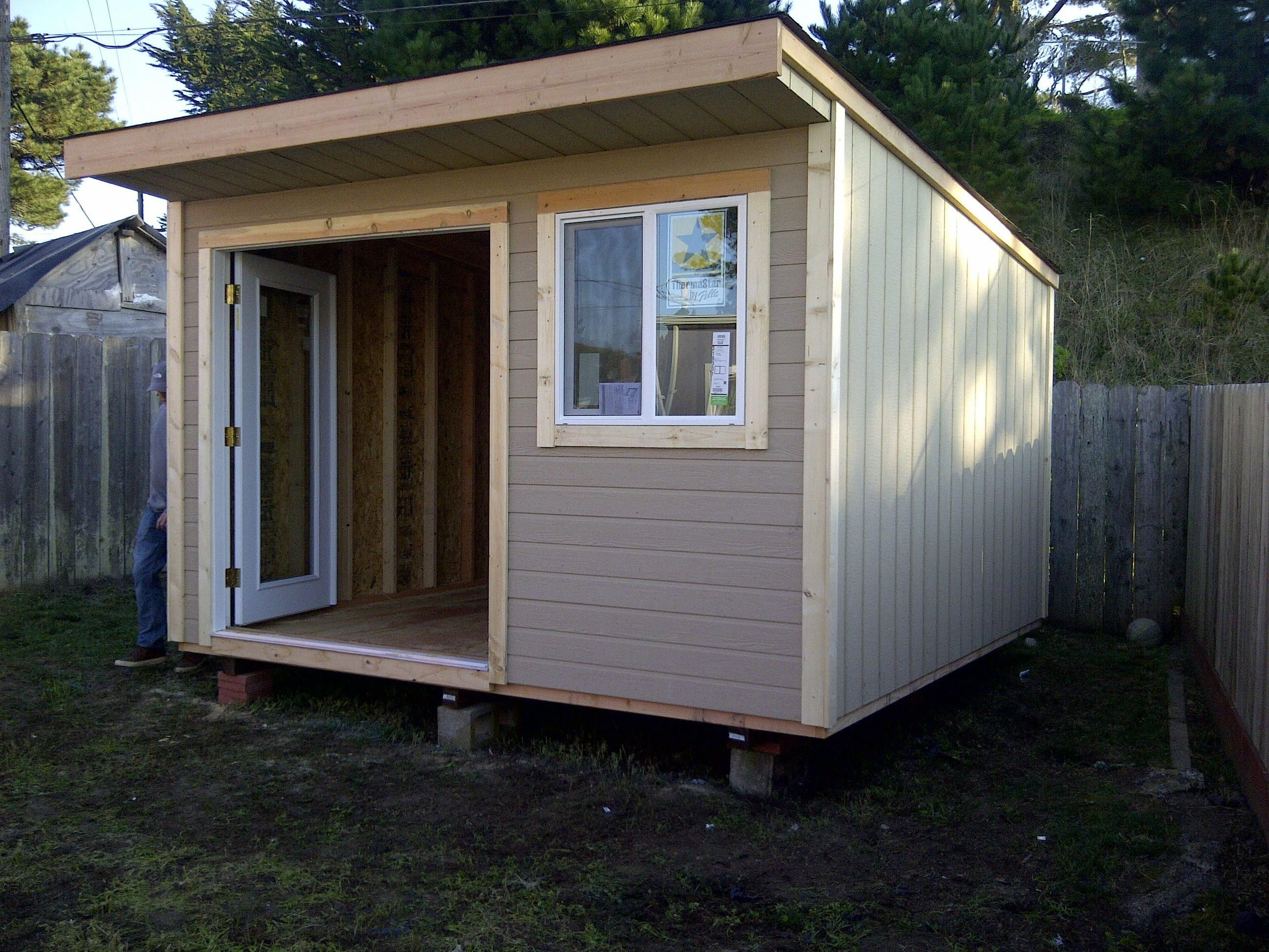 Image Result For Slanted Roof Sheds Ideasforsheds Shed Roof Design Building A Shed Backyard Sheds