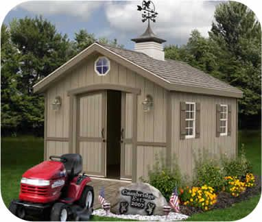 cambridge 10x20 ezup wood storage shed for the home pinterest