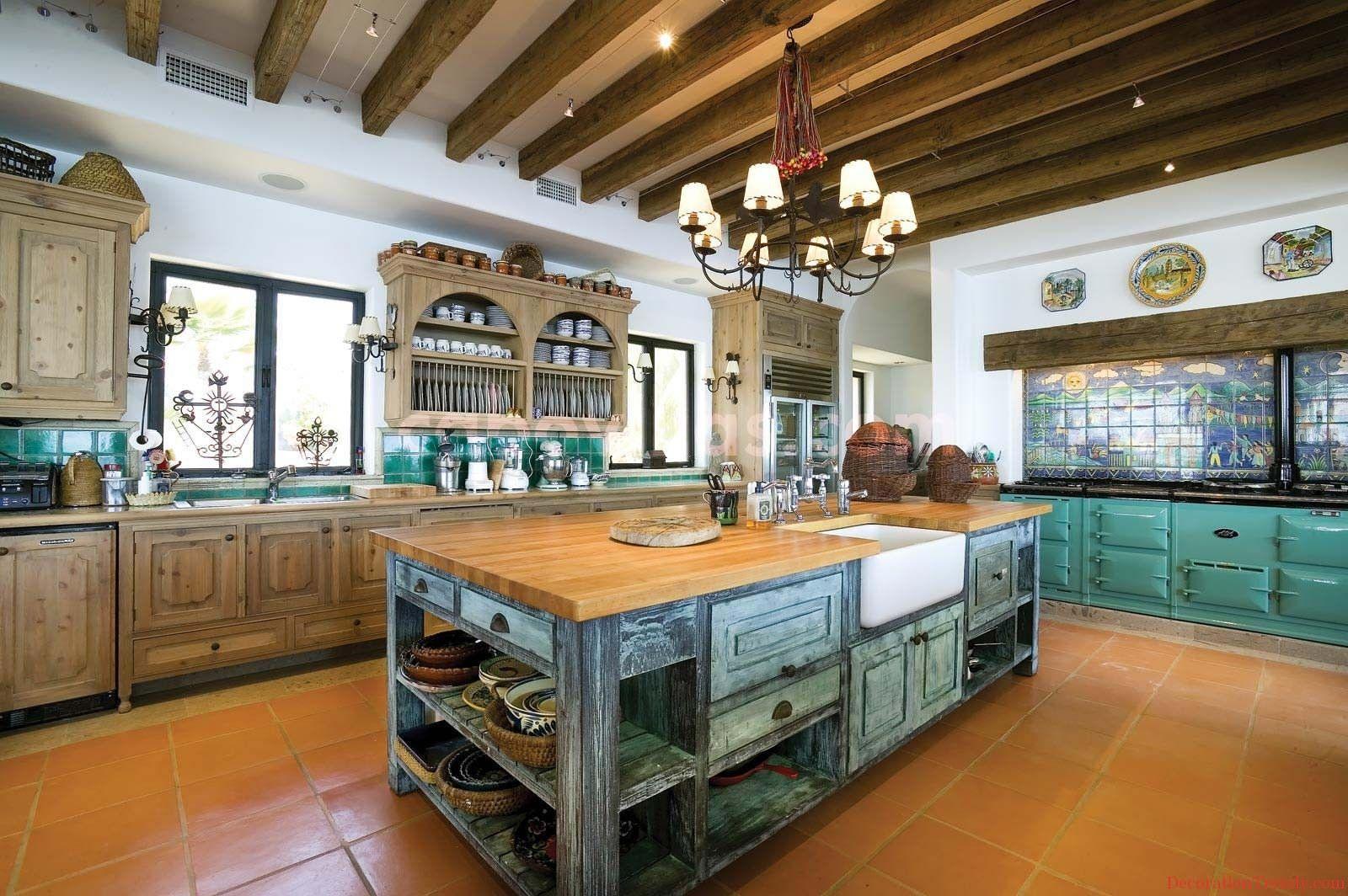 20 Fabulous Shades Of Orange Paint And Furnishings Mexican Kitchen Decor Yellow Kitchen Decor Kitchen Decor