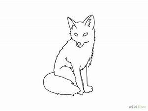 Image Result For Easy Draw Red Fox Fox Fox Drawing Fox Coloring