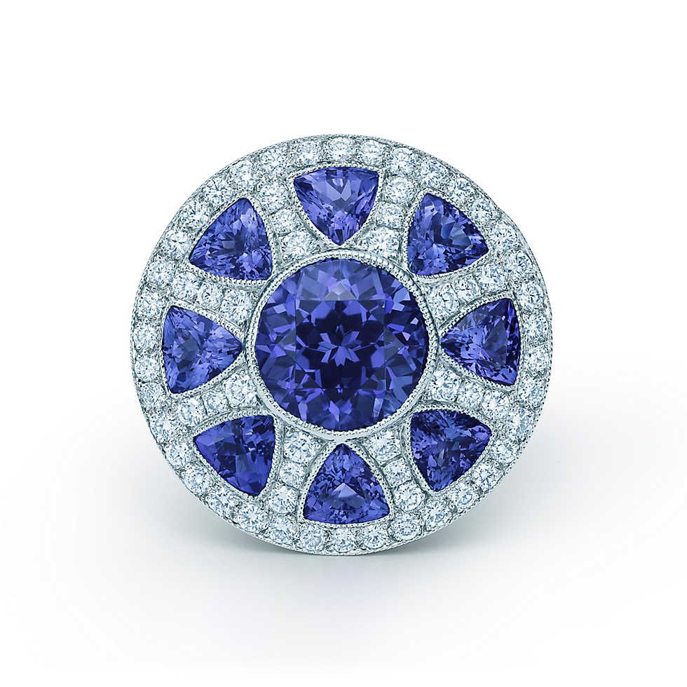 kimberly tiffany tanzanite by designs earrings stud