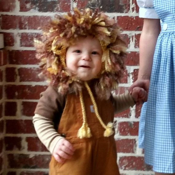 Childrenu0027s Lion Costume Toddler Lion Costume by smittenwithknitn  sc 1 st  Pinterest & Childrenu0027s Lion Costume Baby Lion Costume Lion Hat and Tail ...