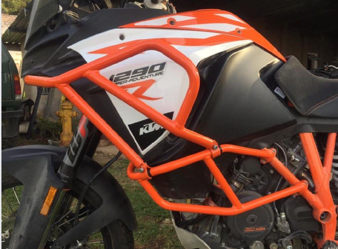 KTM 1290 Upper Crash bars manufactured by SCOTT ADVENTURE | KTM 1290