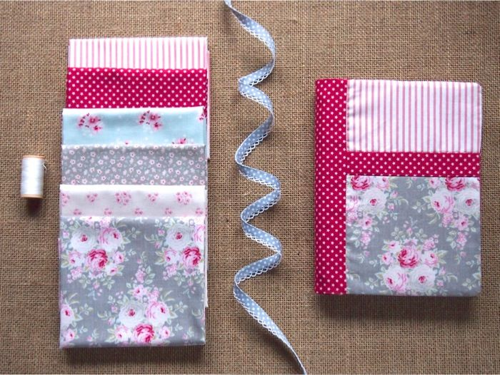 Sew your own book cover