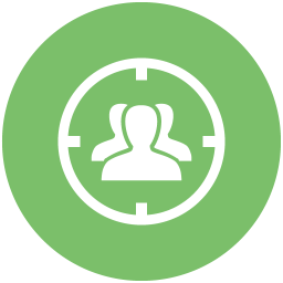 Moth Green Target Audience 2 Icon Free Moth Green Seo Icons Icon Online Marketing Services Internet Marketing Business