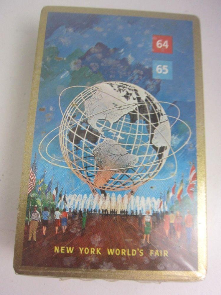 Details about new york worlds fair 1964 bridge playing