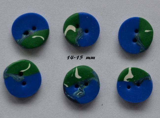 mix colored buttons, nr 115 from Olivia's shop by DaWanda.com