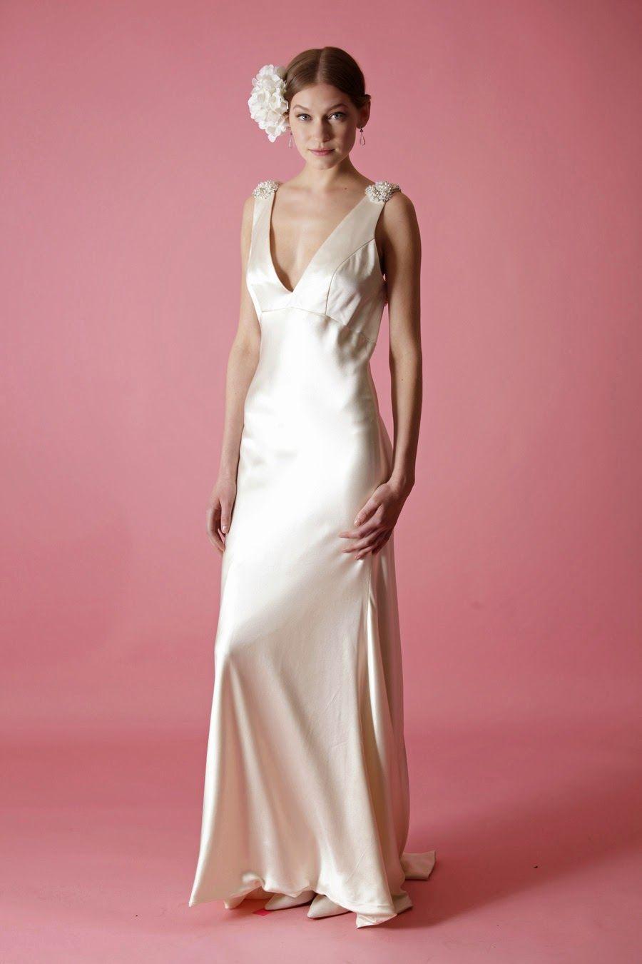 Asombrosos vestidos de novia   Coleccion Badgley Mischka 2014 ...