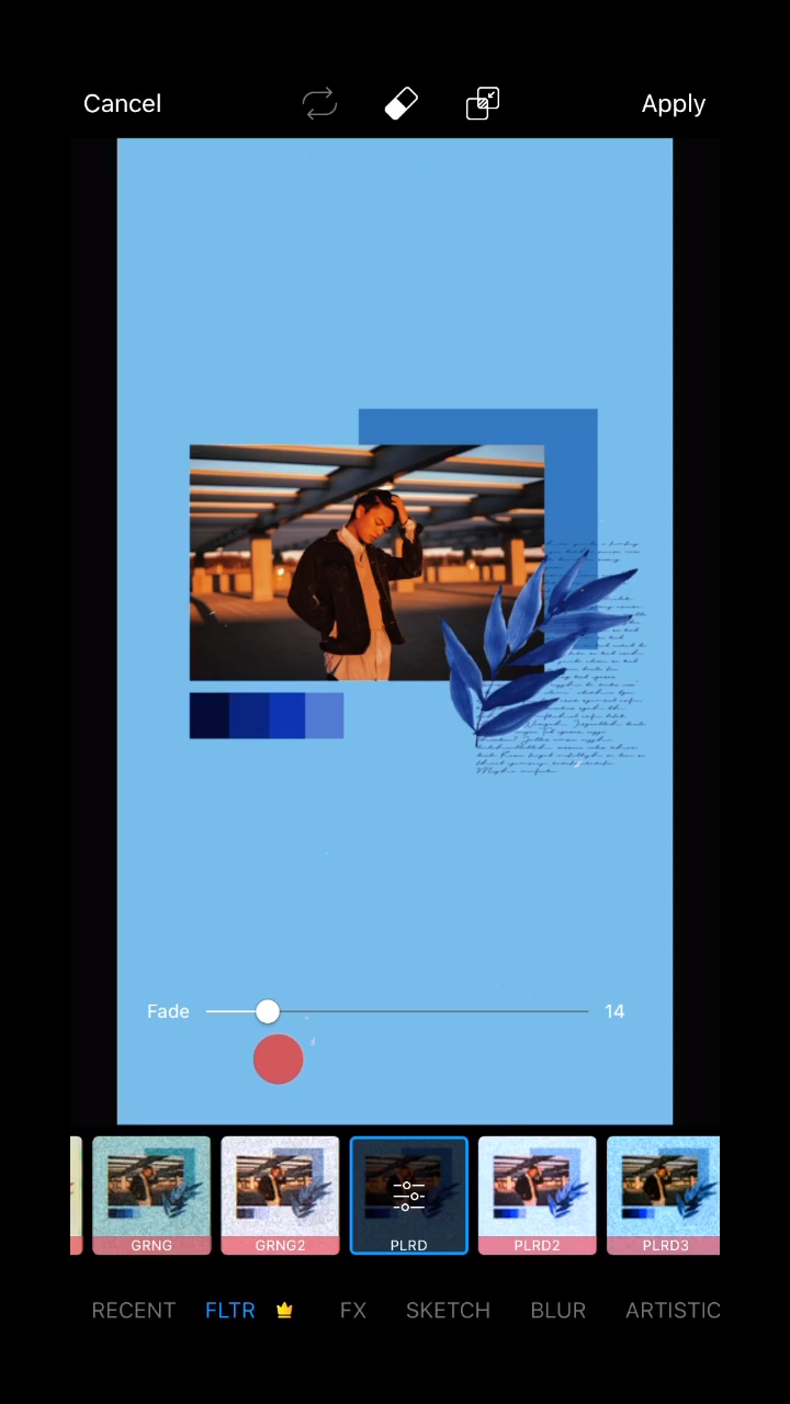 How to Create a Blue Aesthetic Phone Wallpaper 📲✨