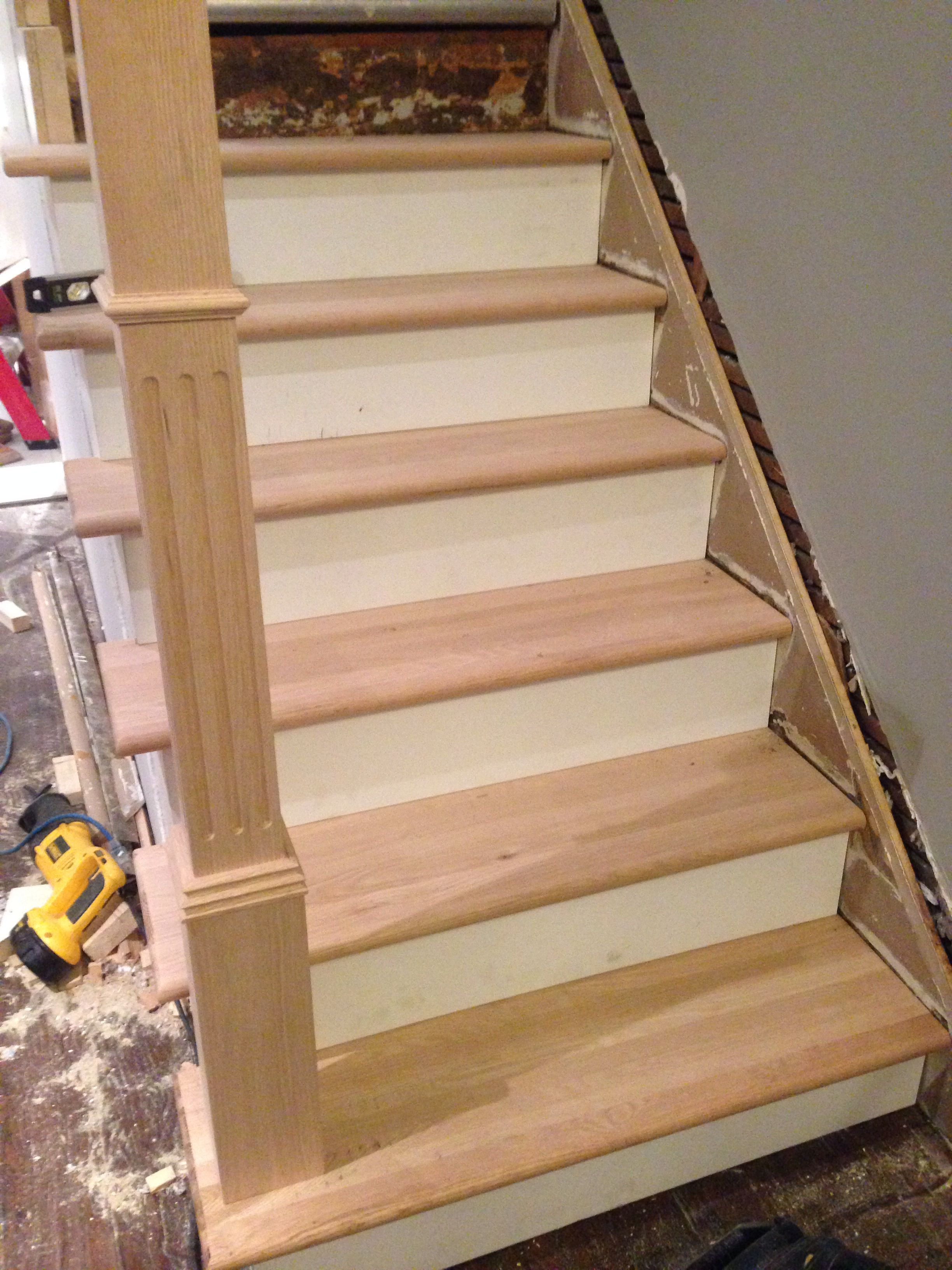 DIY stairs construction project making progress Cosas