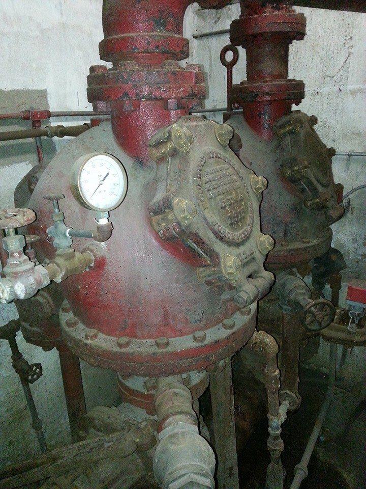 A pair of old Rockwood Dry Valves   Vintage Fire Sprinkler ...