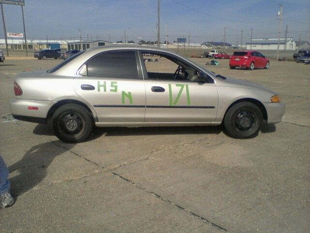 Our car that my husband uses for solo racing.