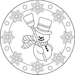 Ausmalbilder Weihnachten Mandala Ausmalbilder Für Kinder