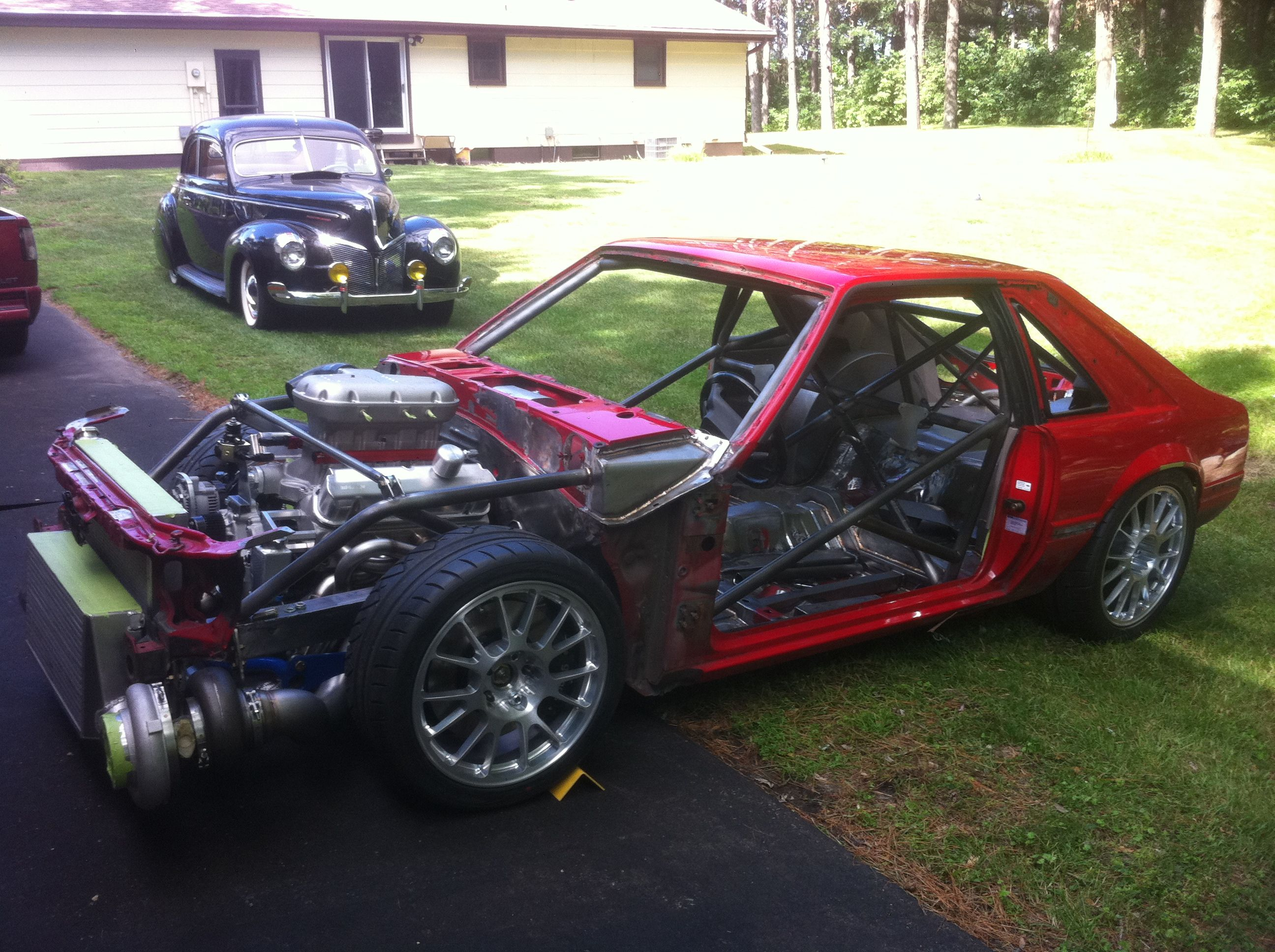 Image result for fox body mustang build
