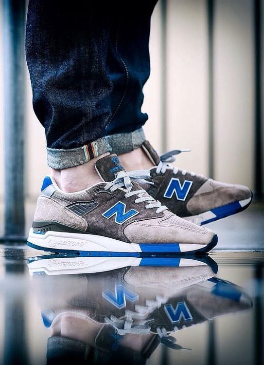 new product 4a828 bb0ee New Balance M998JSI 'Pebble Blue' | Athletic Shoes in 2019 ...