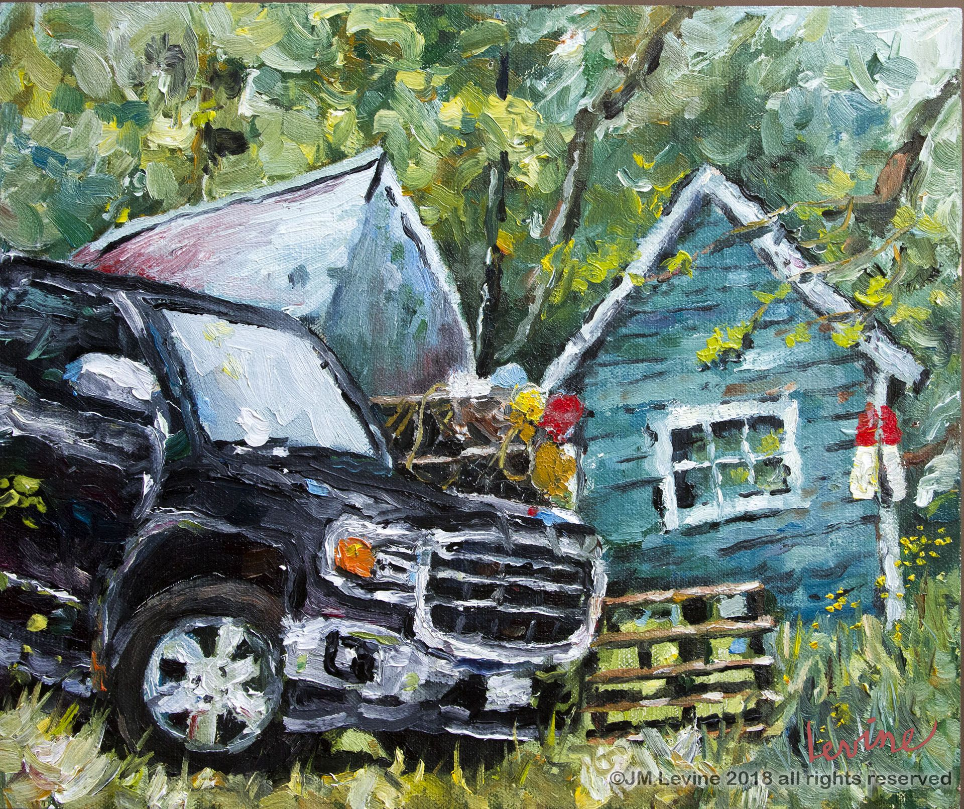 Plein air painting in Maine (With images) Plein air