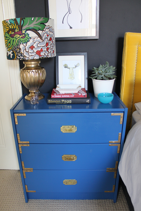 Our New Bedside Tables With A Thousand Possiblities Ikea Rast Hack Ideas Addicted 2 Decorating Ikea Rast Hack Campaign Furniture Ikea Rast