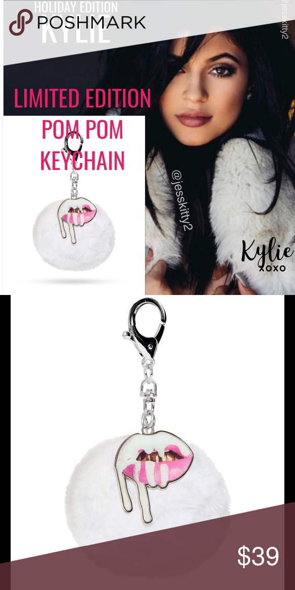 KYLIE POM POM KEYCHAIN LIMITED EDITION 🚫NO TRADES🚫 💯%AUTHENTIC❗ ✅ af180a84e2