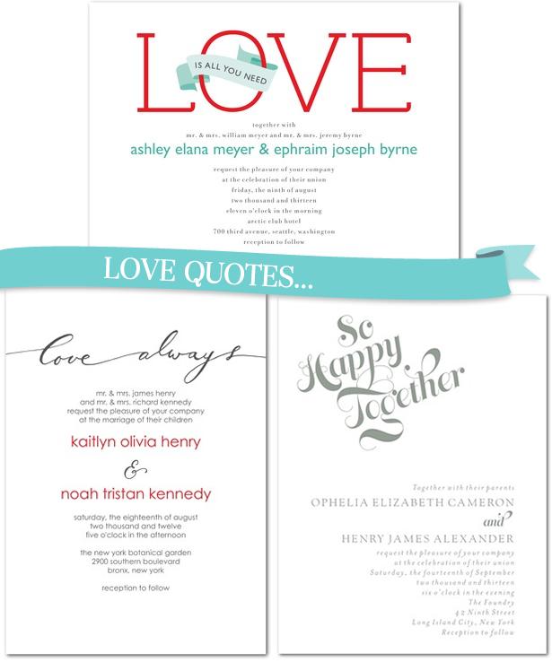 9 Wedding Invitation Designs We Love