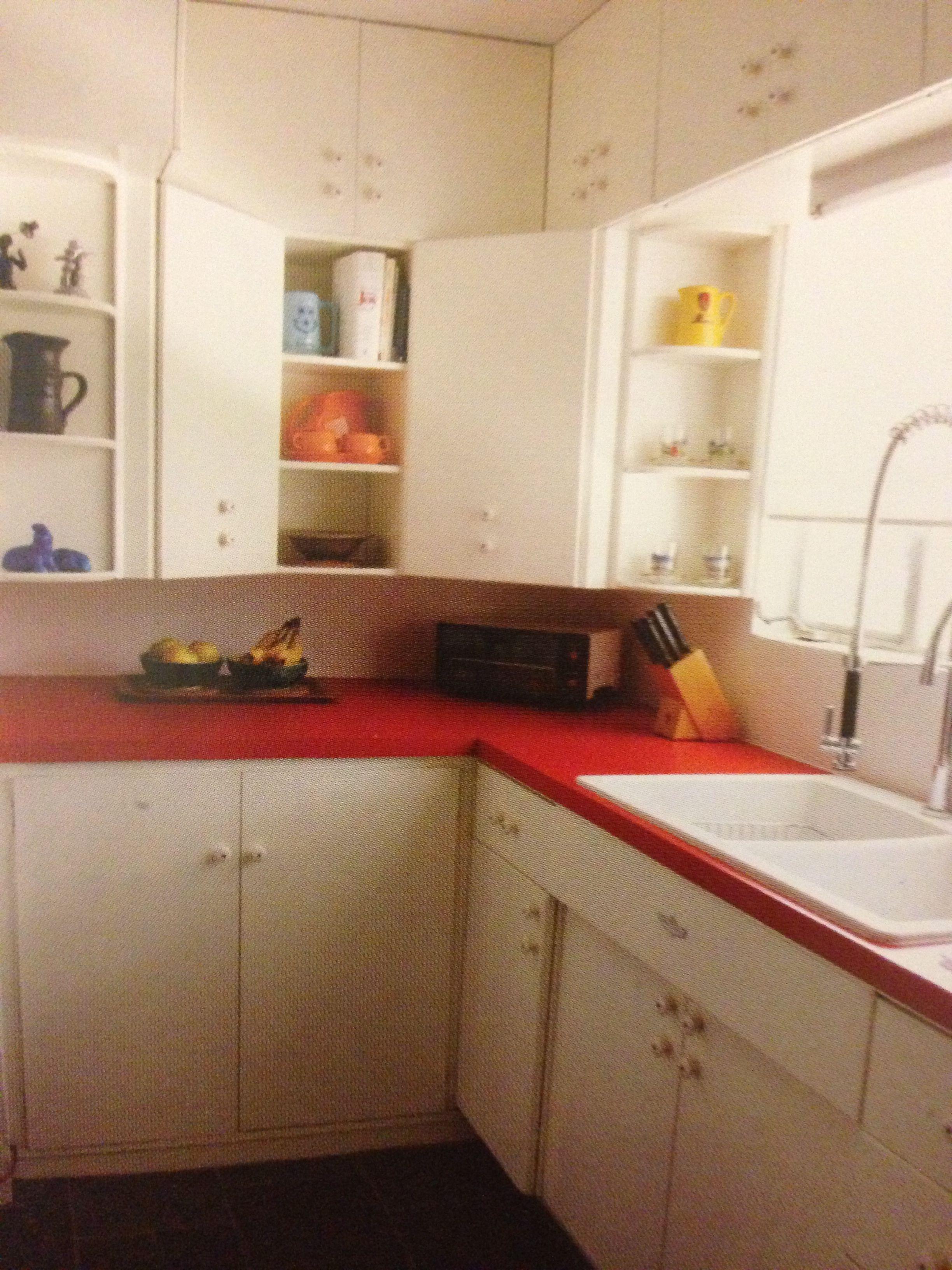contemporary red kitchen cabinets. modern red kitchen ...