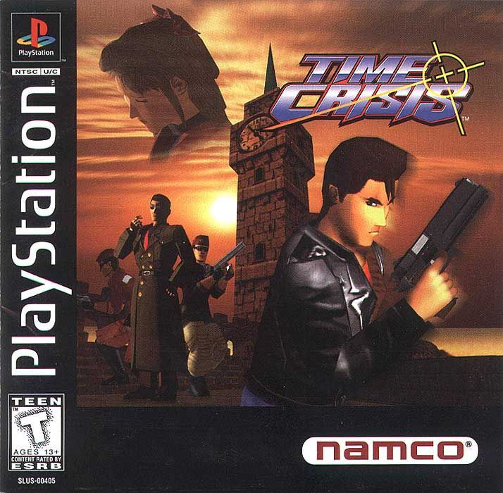 Time Crisis Sony Playstation Classic Video Games Playstation