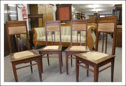 Sedie Antiche ~ Sedie liberty antiche seduta in pelle poltrone seggiole