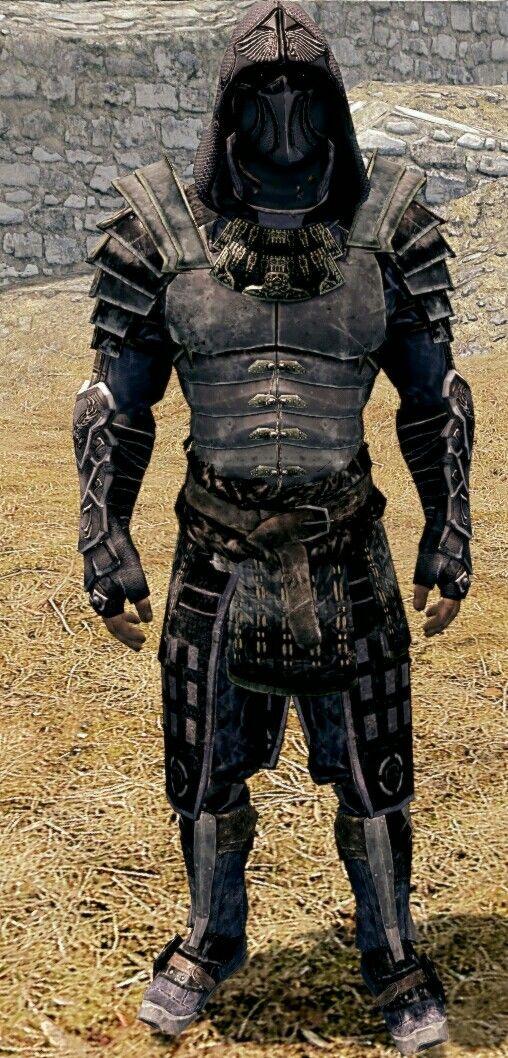 The Phantom Blade By Lazy Rocktime Nightingale Hood Blades Armor
