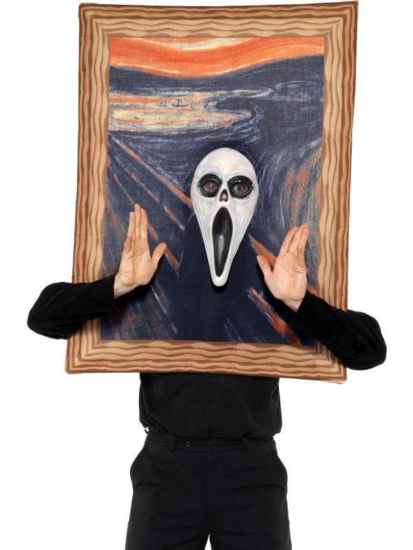 The Scream Costume Halloween Ideas Pinterest More