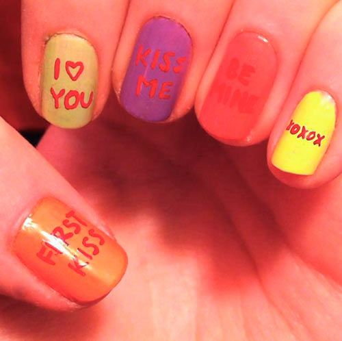 valentines day nails!!!!!!!!