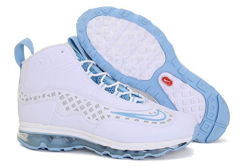 Nike Ken Griffey Jr Shoes in White Blue | Zapatos deportivos