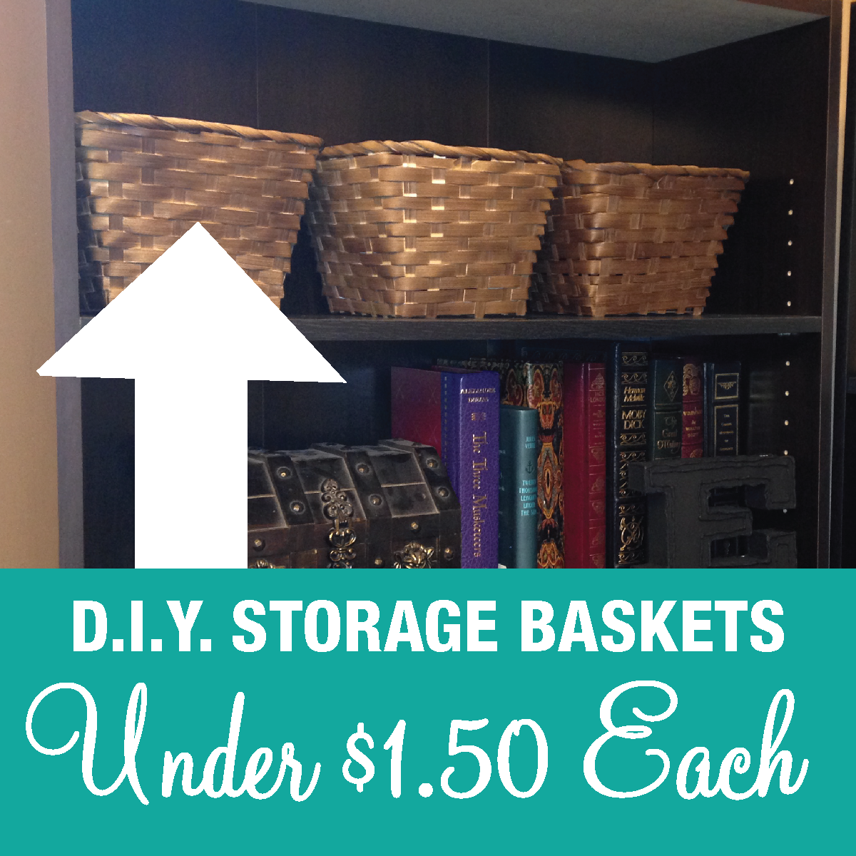 DIY Cheap Storage Baskets