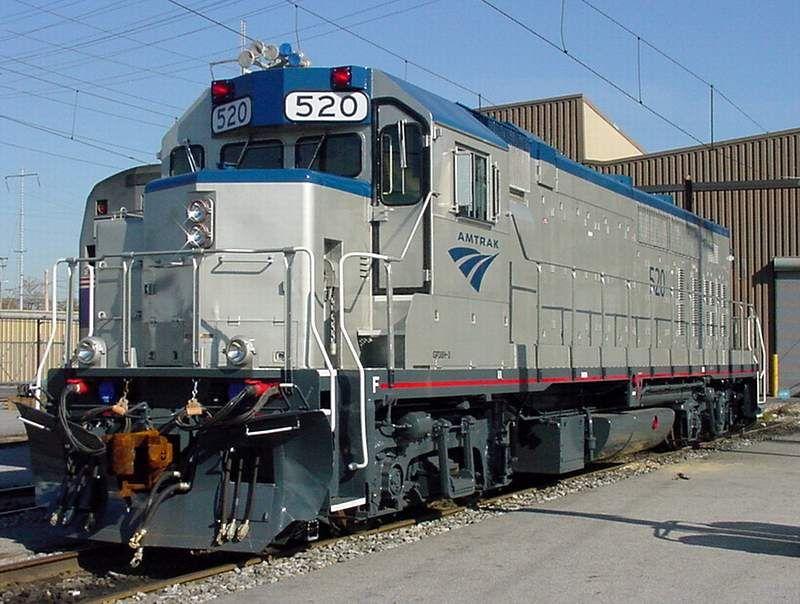Gp38h 3 Amtrak 520 Gp38h 3 Rebuild Of 8 Amtrak Gp40tcs By Ns