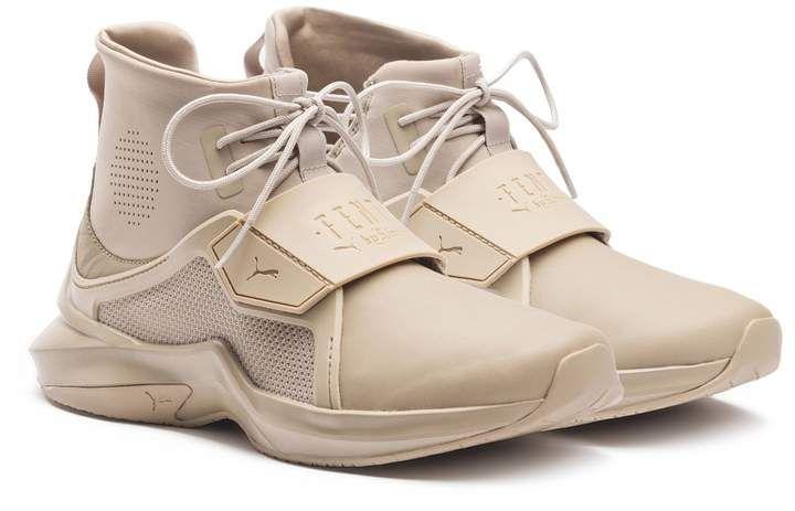 sale retailer 285b2 a6fdc Puma Fenty Trainer Hi Women's Sneakers | FASHION in 2019 ...