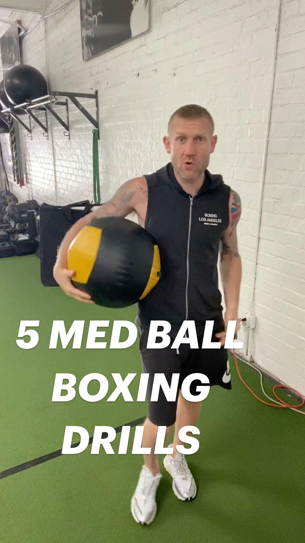 5 MED BALL BOXING DRILLS