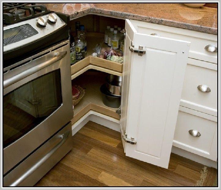 lazy-susan-corner-cabinet.jpg (723×623)   Organization   Pinterest ...