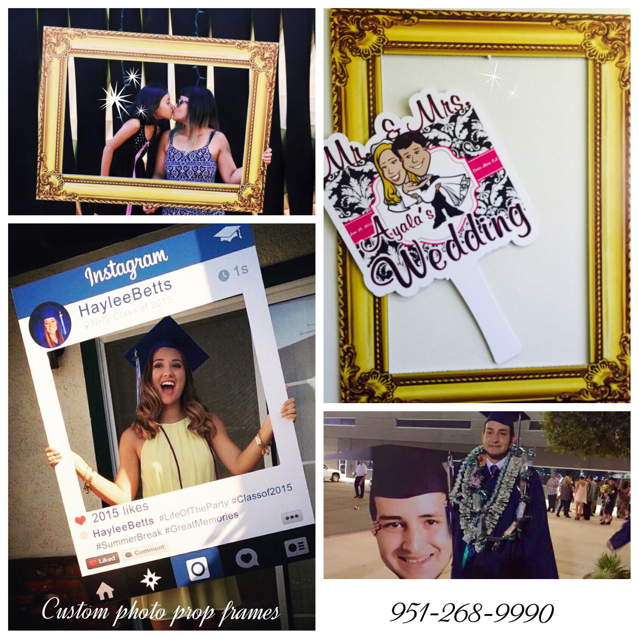 custom instagram frames get you or your business noticed great for parties and photo booth