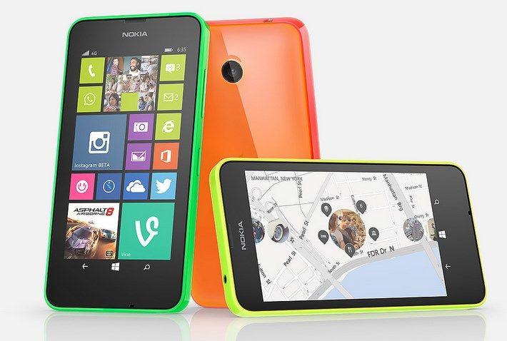 Lumia 635 irá possuir 1GB de RAM