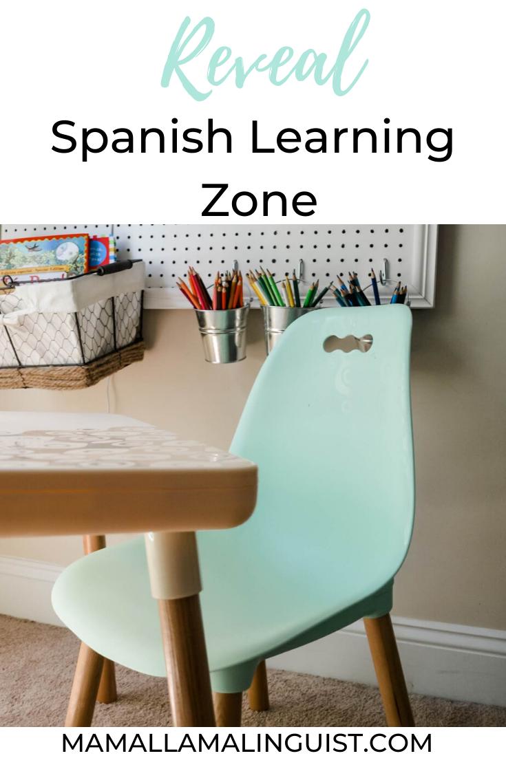 Reveal Spanish Learning Zone In 2020 Learning Spanish Spanish Kids Homeschool Spanish