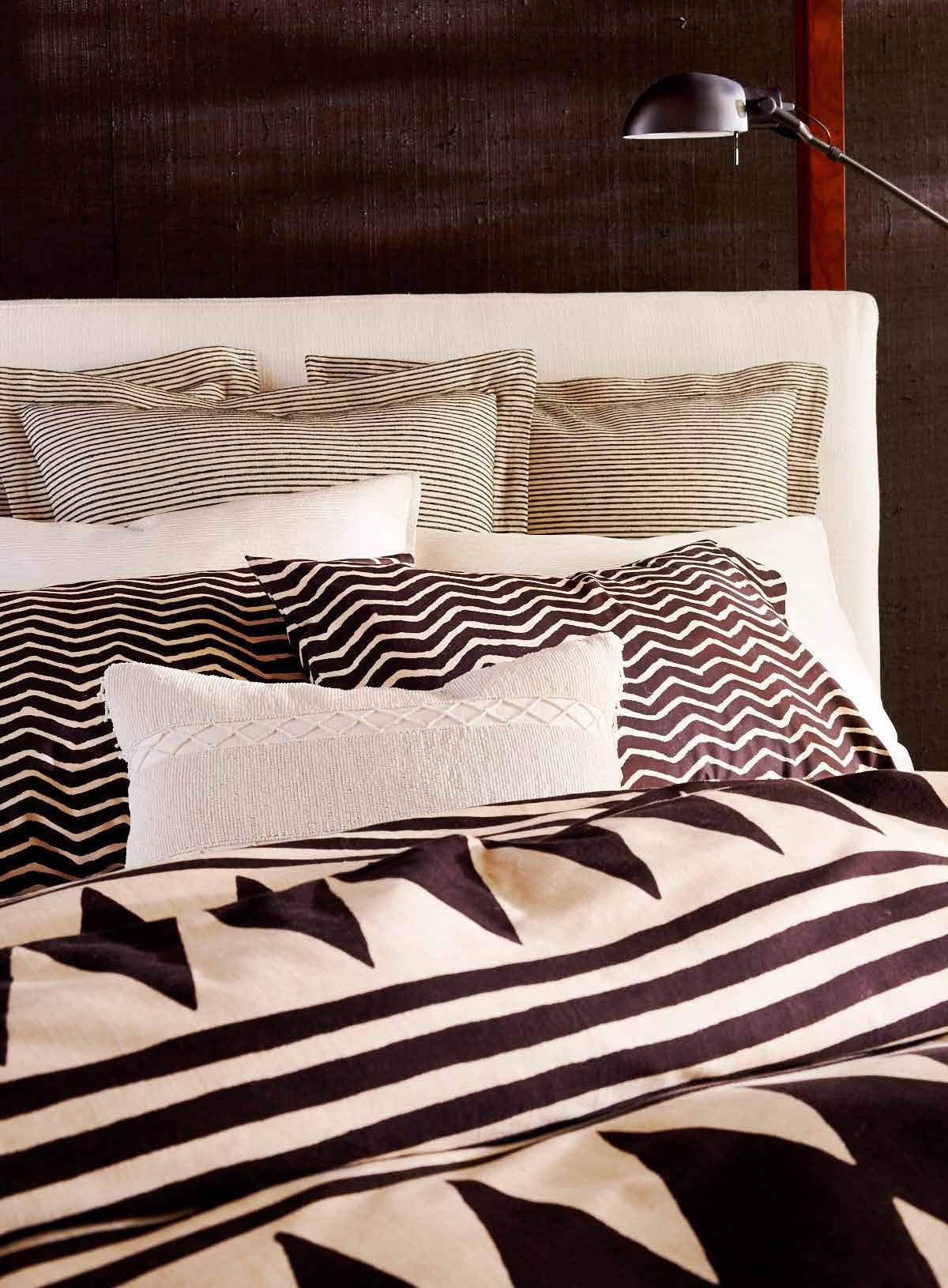 Ralph lauren plaid bedding - Ralph Lauren Home S Graphic Black Palms Bedding Collection