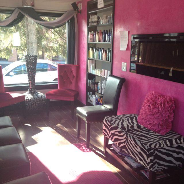 Pink Salon Beauty Salon Decor Sunbed Salons Salon Decor