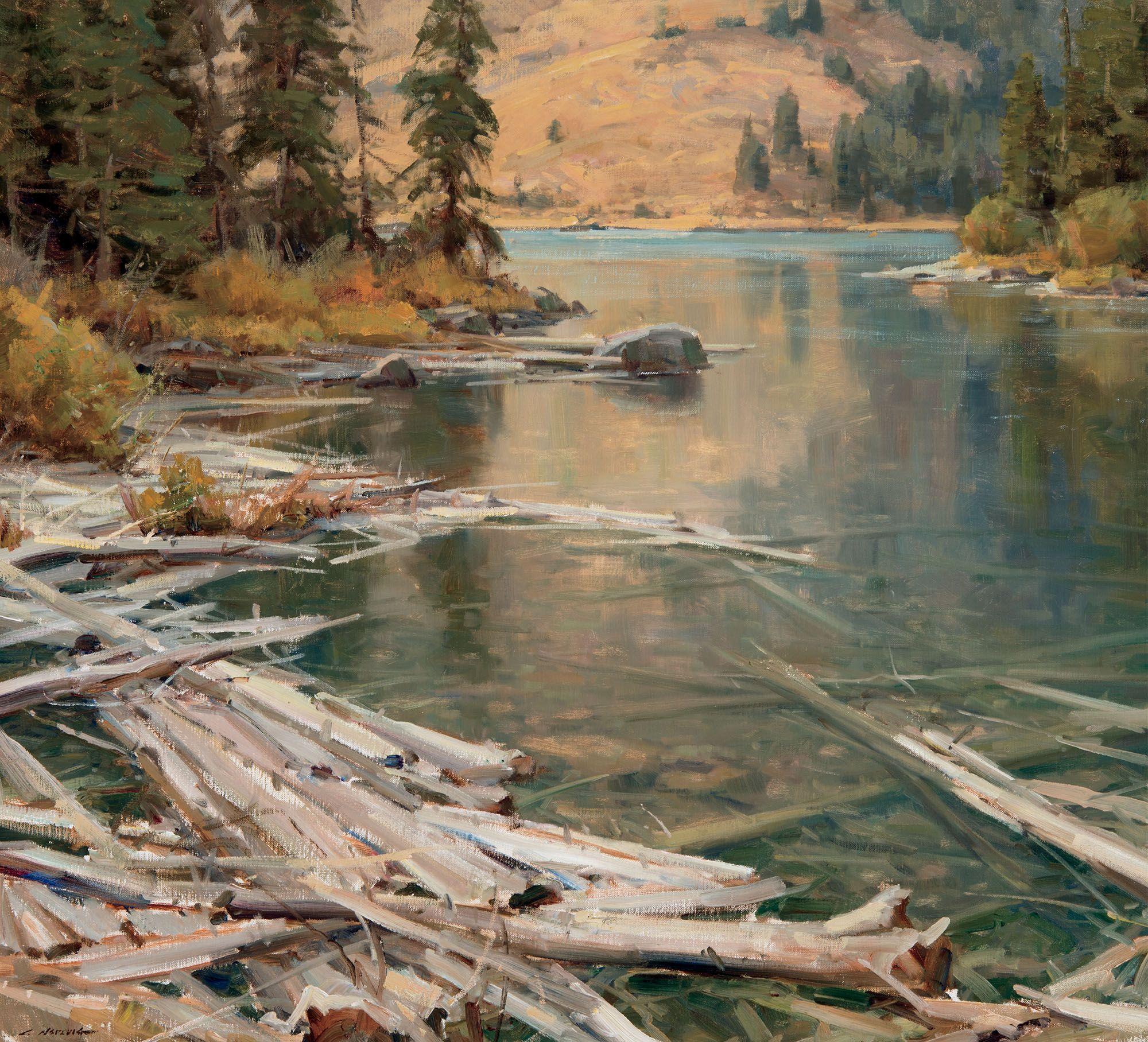 Clyde Aspevig Astoria Fine Art In Jackson Hole