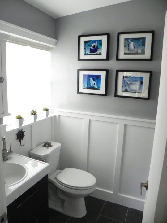 Fantastic Light Grey Tile Bathroom Floor Tiny Good Paint For Bathroom Ceiling Solid All Glass Bathroom Mirrors Bathroom Vanities Toronto Canada Old 48 White Bathroom Vanity Cabinet RedBathroom Lighting Sconces Brushed Nickel Before \u0026amp; After: The \u0026quot;Oops, You Got Us In Trouble\u0026quot; Bathroom ..