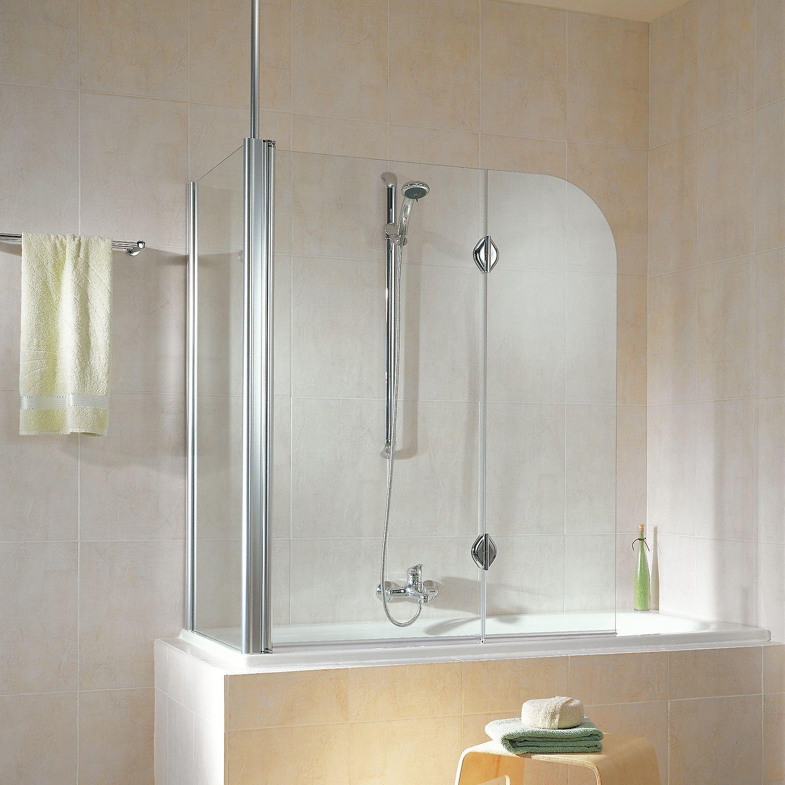 Schulte Duschabtrennung Badewannenfaltwand Komfort Teilgerahmt 2 Teilig Garant Duschabtrennung Duschabtrennung Badewanne Bad Inspiration