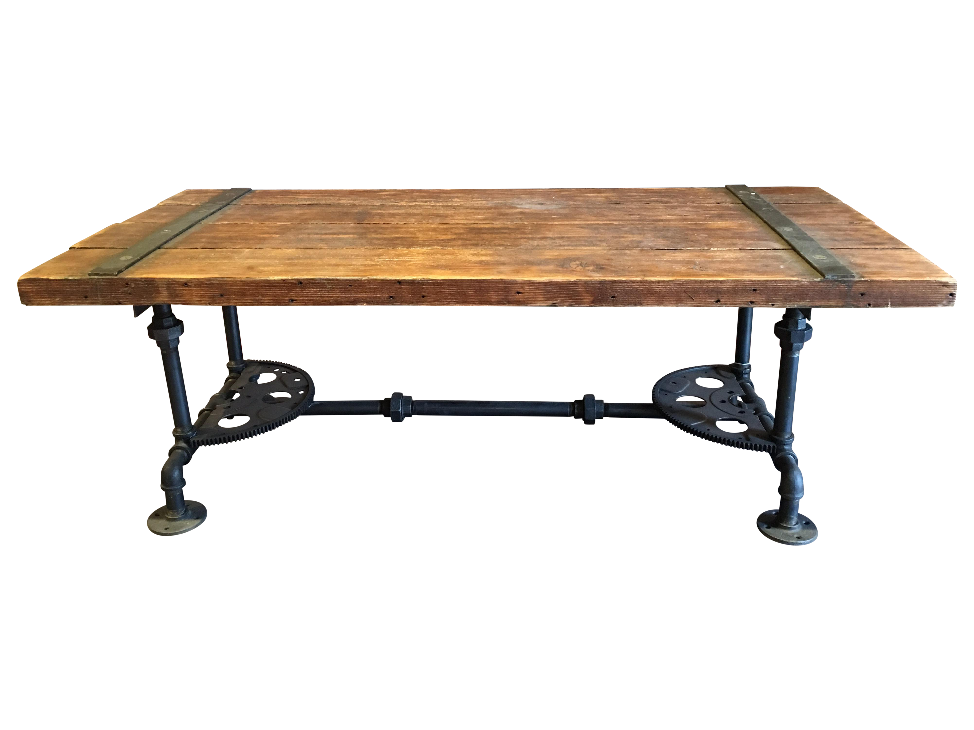 New Steampunk Coffee Table Created By Local Craftsman Matching End Tables Available Made From Old Car Transmission Steampunk Coffee Table Coffee Table Table