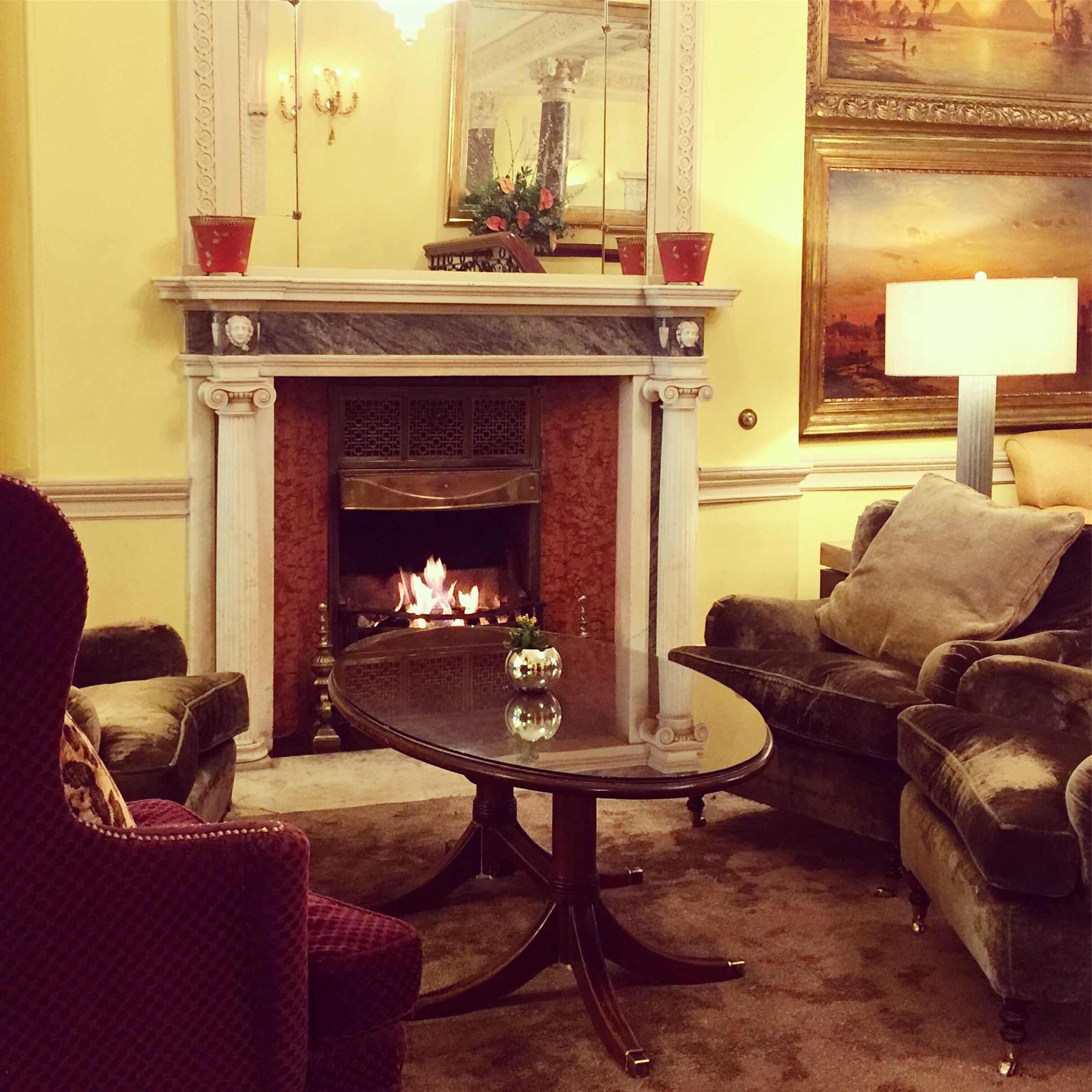 The days are getting colder which gives us the perfect excuse to stay inside by the roaring fire!