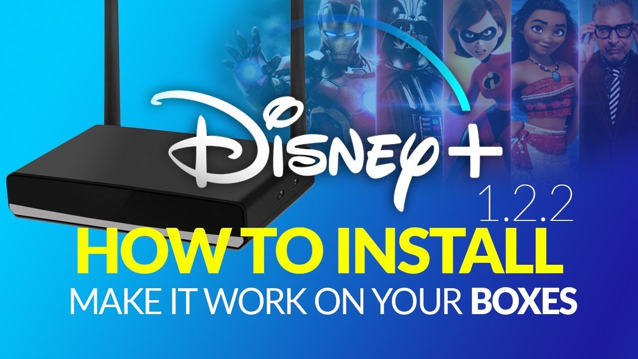 Disney plus version 122 on android tv box and more