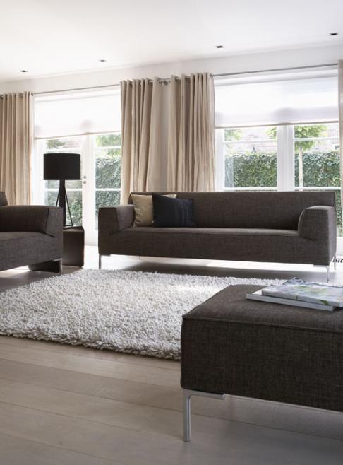 Deze mooie #gordijnen geven een warme sfeer | woonkamer | Pinterest ...